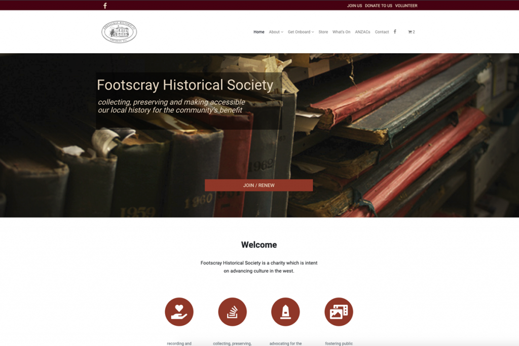 Footscray Historical Society website