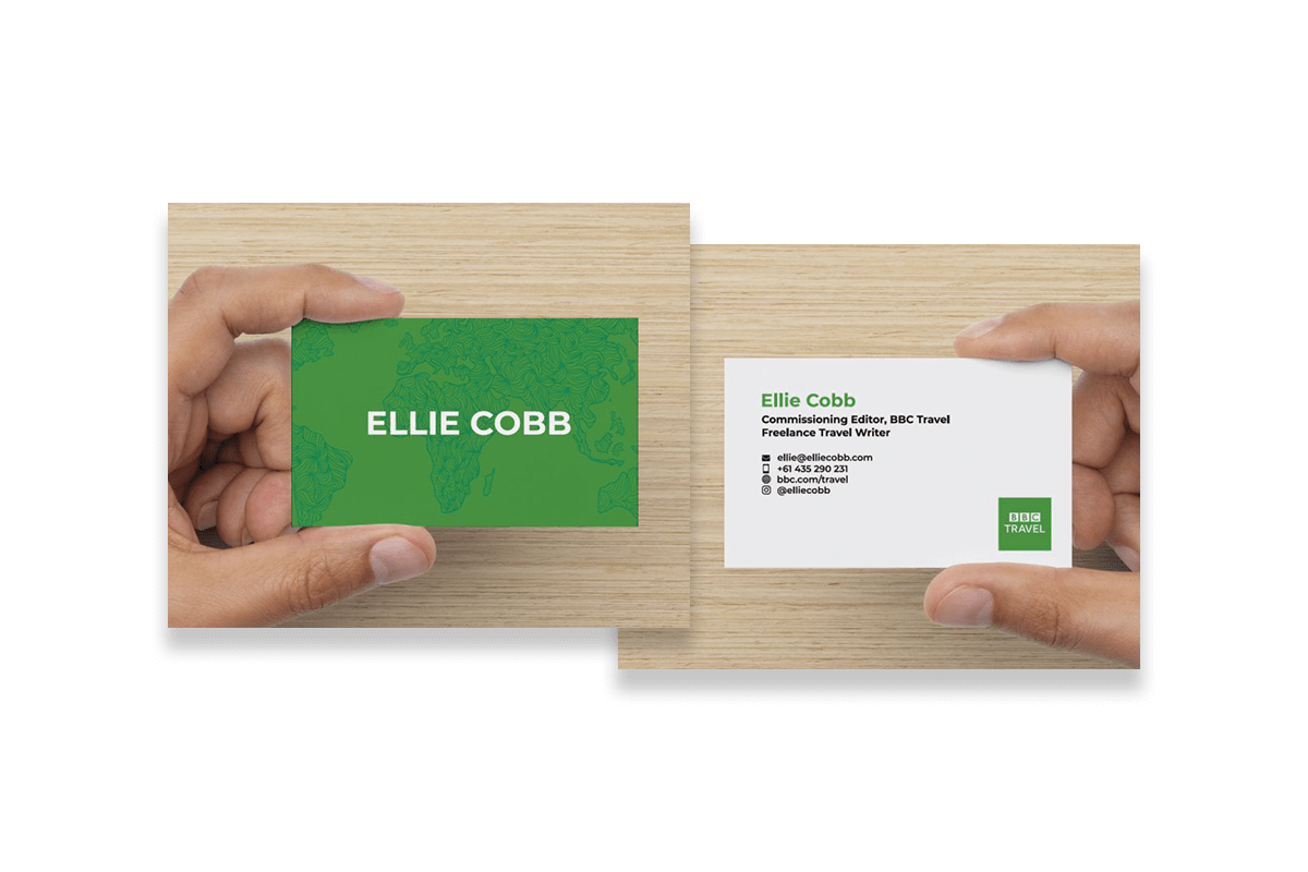 Ellie Cobb business cards