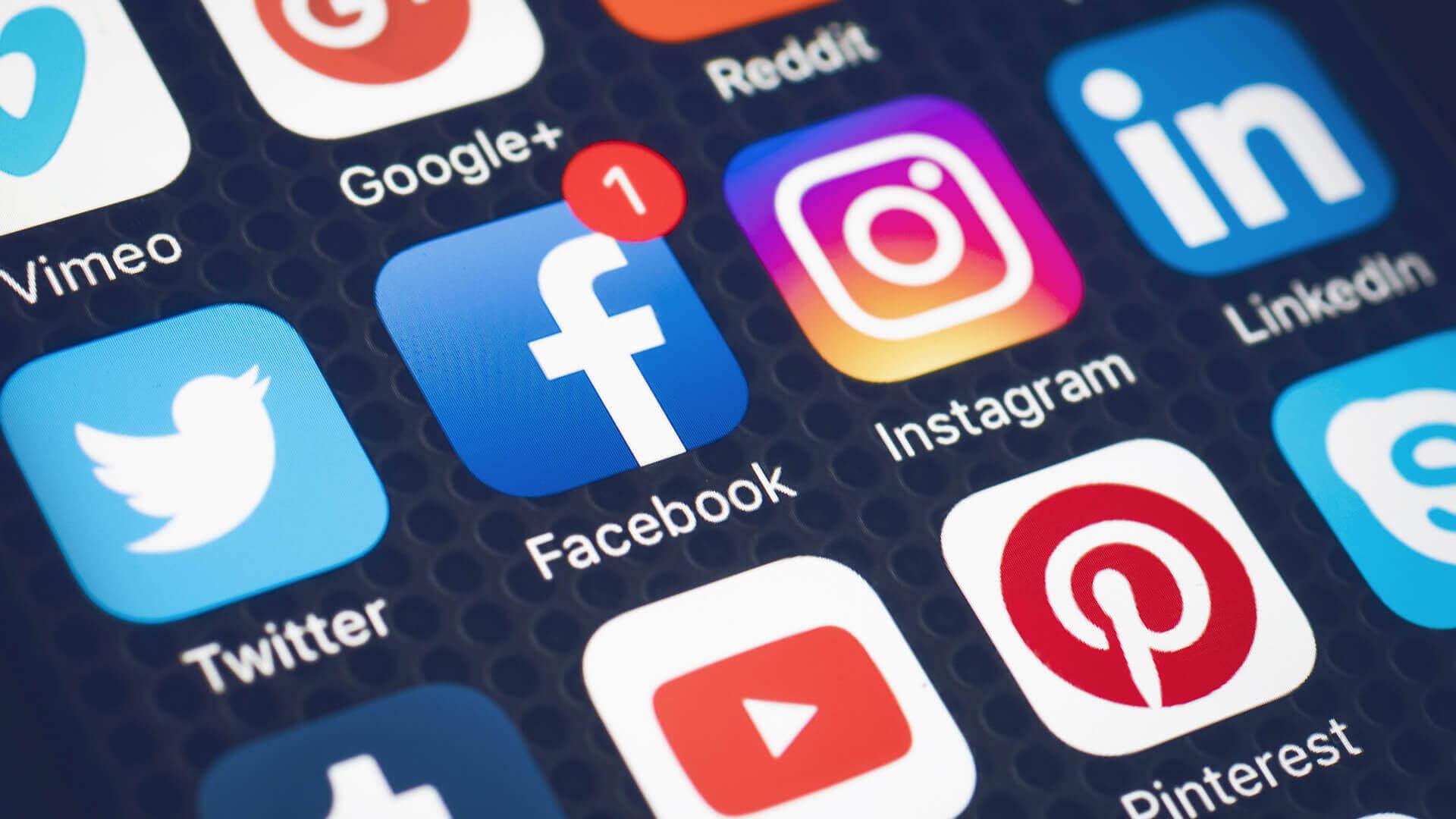 Social Media Icons - Design Grid