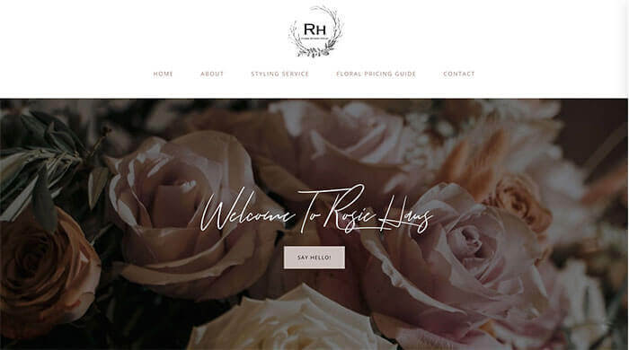 Rosie Haus Florist | Design Grid Marketing