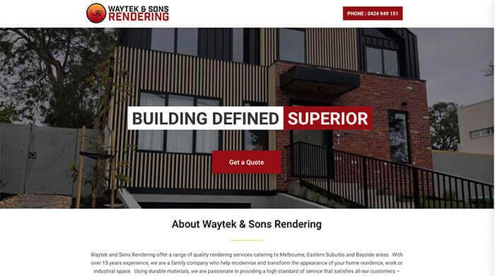 Waytek & Sons Rendering