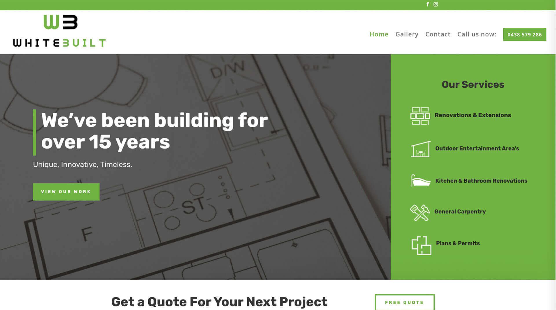 White Built - on-site SEO