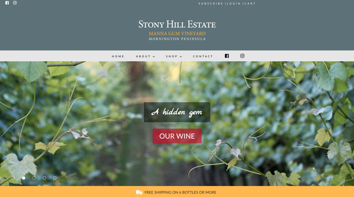 Stony Hill Estate | Design Grid Marketing